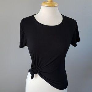 WHBM black T - capsule wardrobe